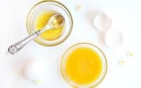 Маска из яичного желтка