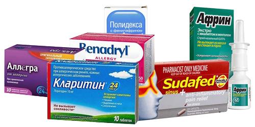 Антигистаминные и противоотечные средства