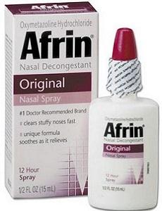 Противозастойный српей Африн для носа
