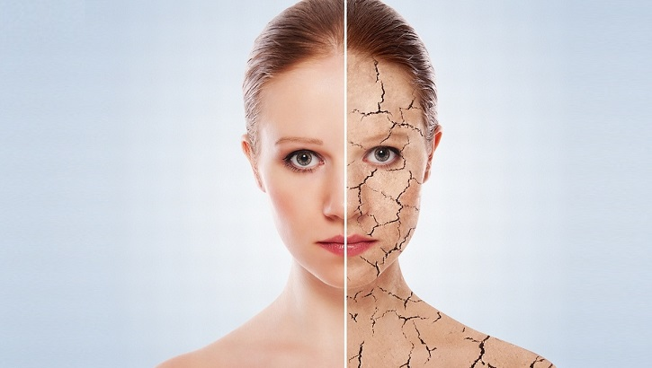 Нездоровая сухая кожа