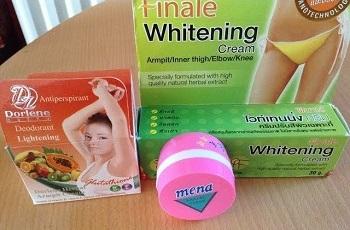 Отбеливающие кремы для кожи
