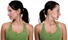 Упражнение повороты головы