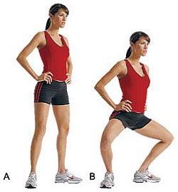 Упражнения для мышц внутренней стороны бедра