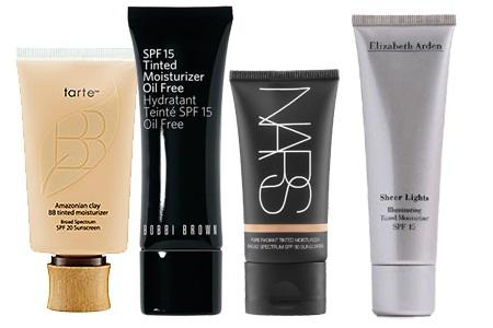Увлажняющие средства для жирной кожи с тональным эффектом