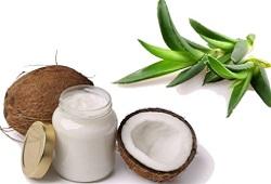Алоэ и кокосовое масло