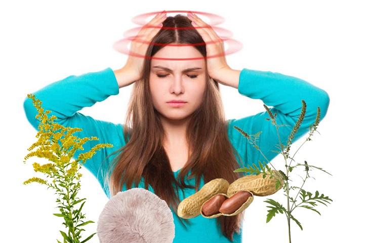 Аллергены и головокружение