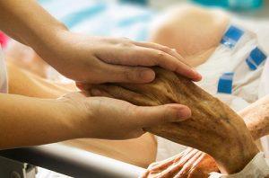 Мраморная кожа у пожилого человека